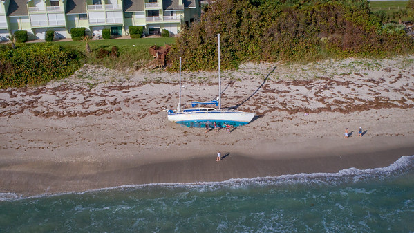 Cuki aka Ghost Boat in Melbourne Beach