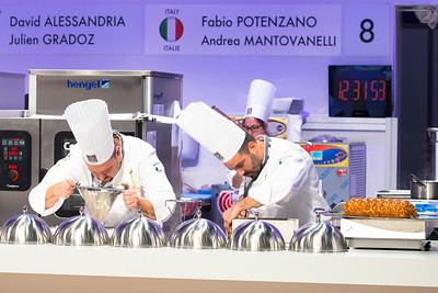 L'équipe d'Italie composée de Fabio POTENZANO et Andrea MANTOVANELLI à l'oeuvre