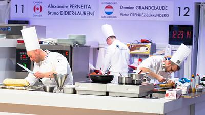 L'équipe du Luxembourg composée de Damien GRANDCLAUDE et Victor CRENDEZ-BERRENDERO à l'oeuvre