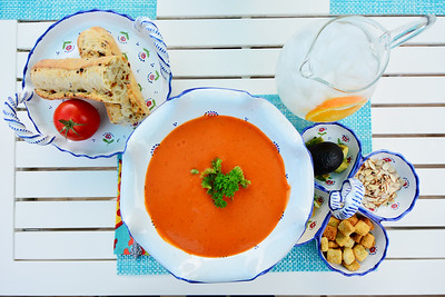 Sherri Hemminghaus-Weeks, gazpacho (Spain)