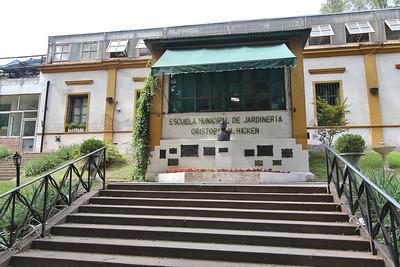 Municipal Gardening School Cristóbal María Hicken, situated in the Buenos Aires Botanical Garden (Jardín Botánico Carlos Thays de la Ciudad Autónoma de de Buenos Aires)