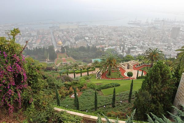 Gardens in Israel, November 2012