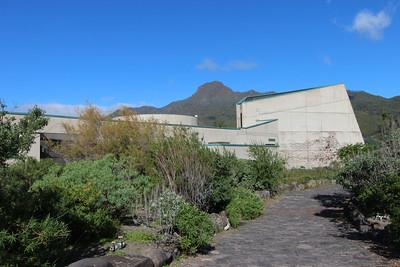 Garden at El centro de visitantes de La Caldera de Taburiente, El Paso