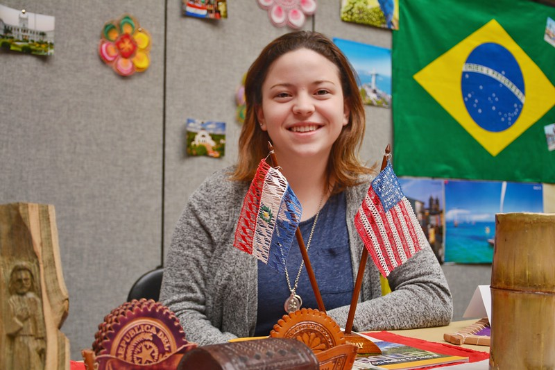 An international cultural feast you should not miss in K-State. Paraguay 4/12/2018 (Bill Zhu | Collegian Media Group)