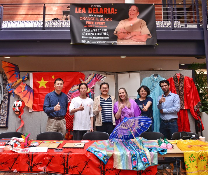 An international cultural feast you should not miss in K-State.  China 4/12/2018 (Bill Zhu | Collegian Media Group)