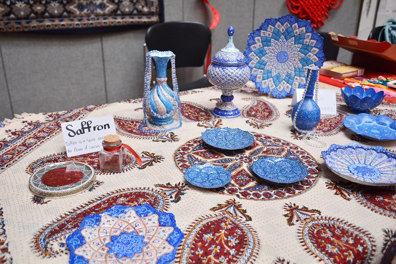 An international cultural feast you should not miss in K-State.  Iran 4/12/2018 (Bill Zhu | Collegian Media Group)