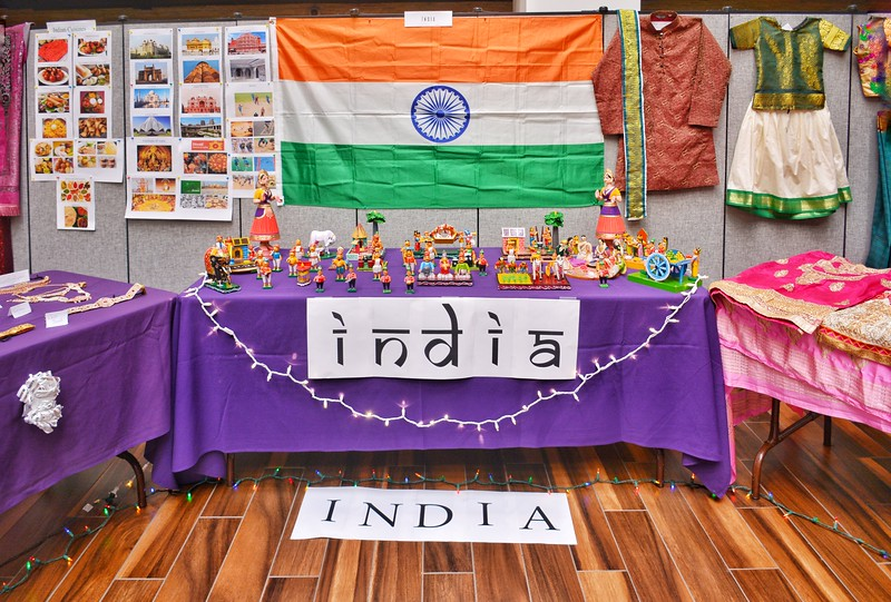 An international cultural feast you should not miss in K-State.  India 4/12/2018 (Bill Zhu | Collegian Media Group)