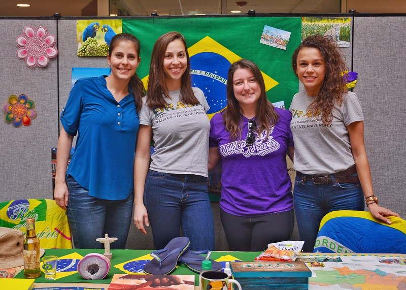 An international cultural feast you should not miss in K-State. Brazil  4/12/2018 (Bill Zhu | Collegian Media Group)