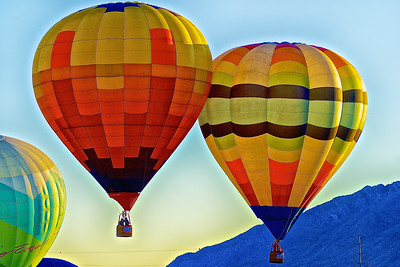 Mass Ascension of Balloons 1
