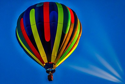 Balloon at the Sunrise Mass Ascension