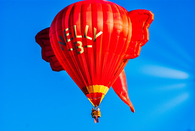 Mass Ascension of Balloons 11