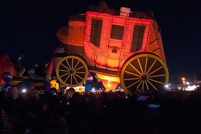 Albuquerque Balloon night glow event 5