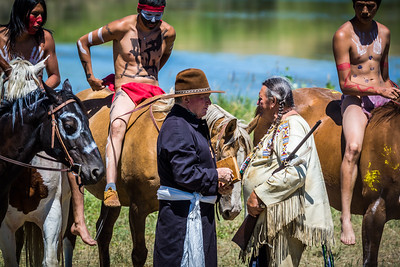 Missionary Contact With Sitting Bull