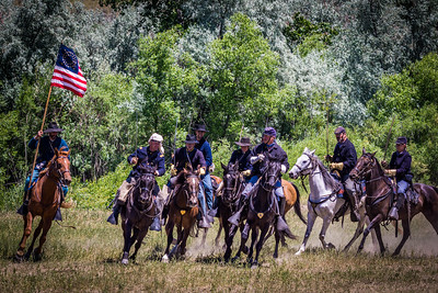 7th Cavalry In Charge Formation