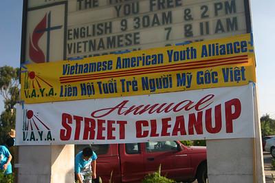 3rd Annual Street Clean-Up: El Cajon Blvd 2006