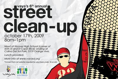 6th Annual VAYA Street Cleanup