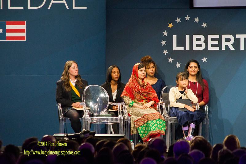 2014 Liberty Medal Award to Malala Yousafzi