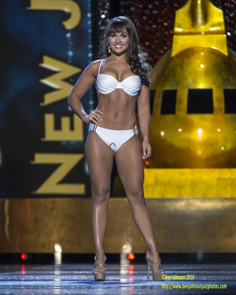 The 2017 Miss America Contestants compete in day 1 of the preliminaries in Atlantic City
