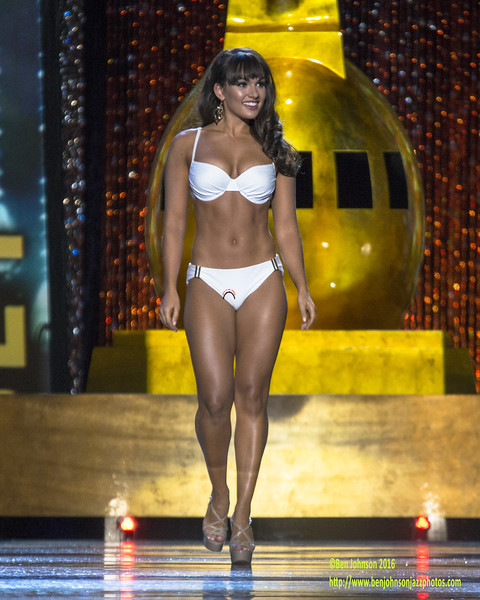The 2017 Miss America Contestants compete in day 1 of the preliminaries in Atlantic Cityy