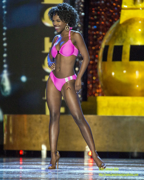 The 2017 Miss American Contestants compete in day 1 of the preliminaries in Atlantic City