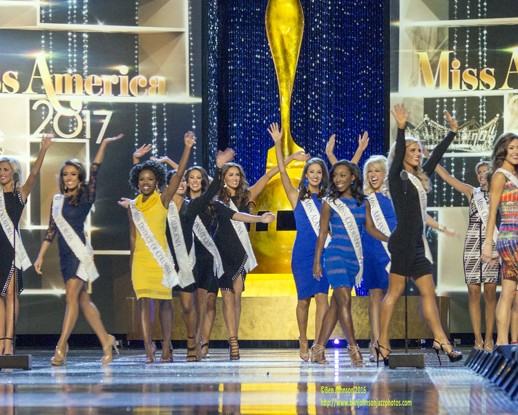 he 2017 Miss America Contestants Debut At The Miss America Pageant 2017- Pageant contestants compete in day 1 of the preliminaries at Convention Hall in Atlantic City New Jersey September 6, 2016