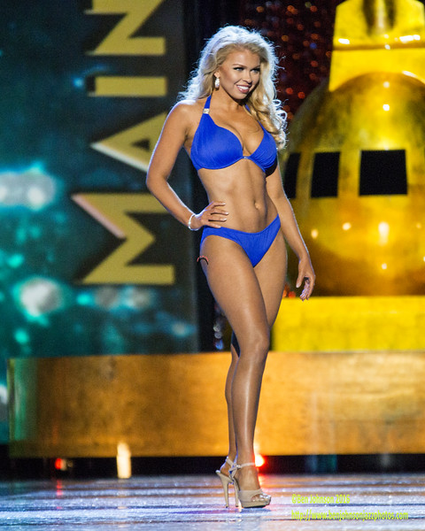 The 2017 Miss American Contestants compete in day 2 of the preliminaries in Atlantic City