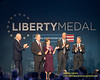 2018 Liberty Medal Award Ceremony Honoring Former President George W. Bush And Former First Lady Laura Bush  at The National Constitution Center in Philadelphia, Pennsylvania, November 11, 2018