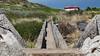 View from Makapu`u trail along shoreline, O`ahu, Hawai`i
