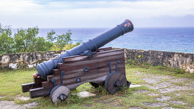Canon at Fort Soledad, Guam