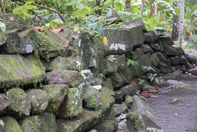 View at Lelu Ruin Historic Site, Lelu, Kosrae, FSM