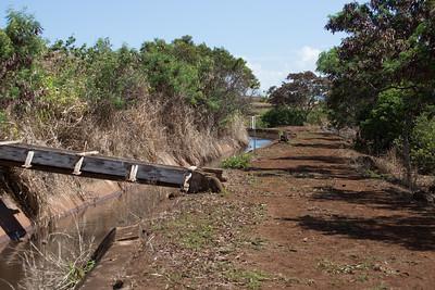 Ranch irrigation system on O`ahu