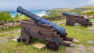 Canon at Fort Soledad, Guam