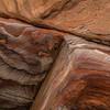 Detail of the rocks in Petra Jordan