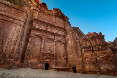 The Street of Facades in Petra Jordan