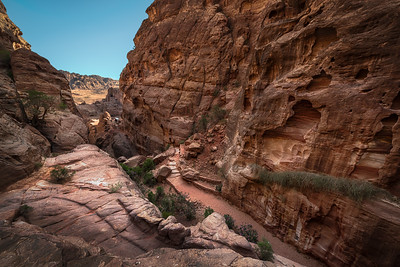 Valley View in Petra