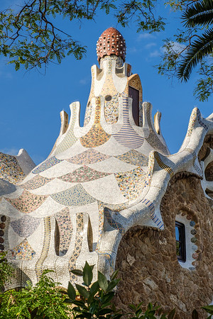 Porter's Lodge in Parc Guell