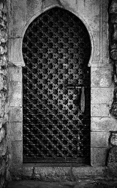 Iron doorway in Old Girona