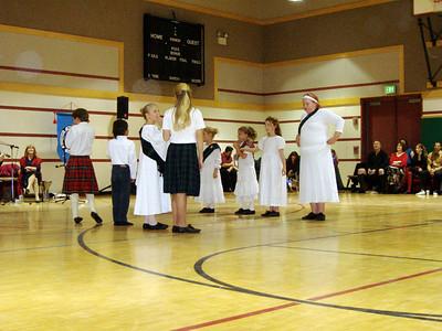 Children ready to dance
