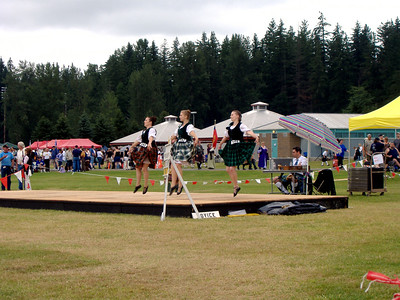 Sophia dancing the Earl at the highland games in Enumclaw