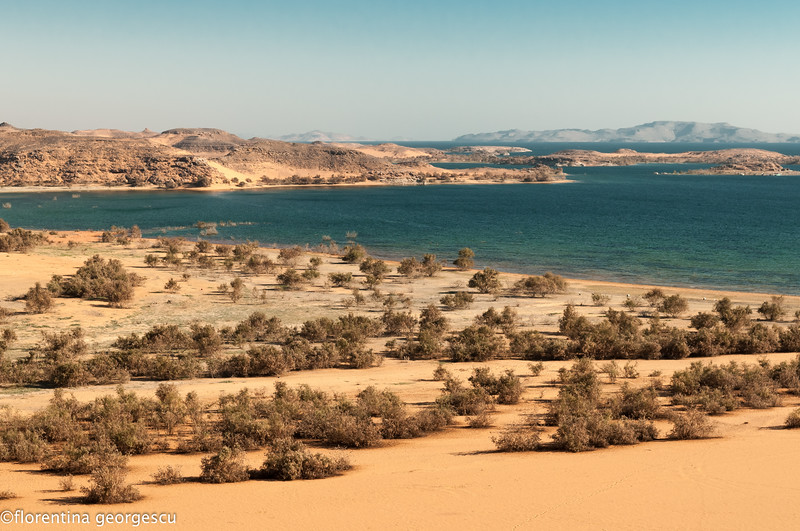 dakka, lake nasser, egypt