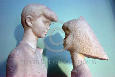 Cult-LOVE 00004 A boy and a girl gaze lovingly into each other's eyes, statue picture by Peter J  Mancus