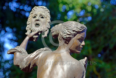 Cult-LOVE 00022 What many good women in love and all scam artists hide behind--a mask, statue picture by Peter J Mancus
