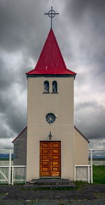 Small church on Snæfellsnesvegur
