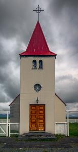 Small church on Snæfellsnesvegur