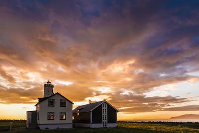 Lighthouse near Reykjavik