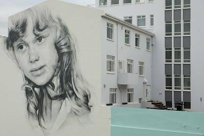 Mural in Akureyri