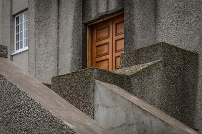 Architectural detail in Reykjavik