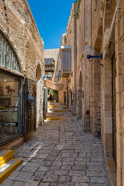 Streets of Old Jaffa