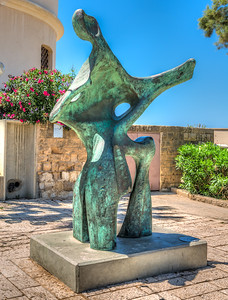 Sculpture in Old Jaffa