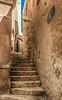 Stairs in the Old City of Jaffa neighborhood of Tel Aviv Israel